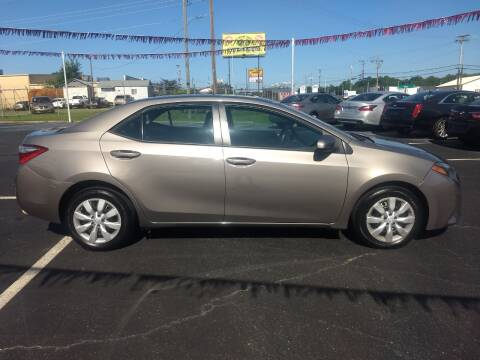2015 Toyota Corolla for sale at Kenny's Auto Sales Inc. in Lowell NC