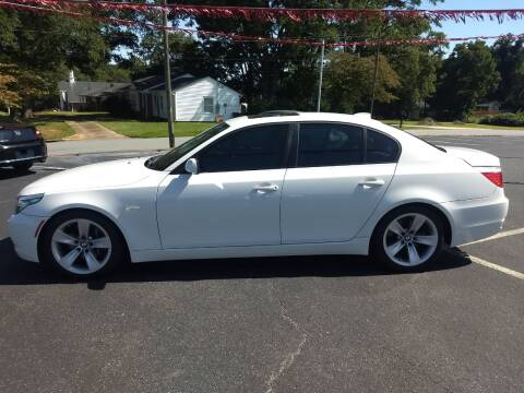 2008 BMW 5 Series for sale at Kenny's Auto Sales Inc. in Lowell NC