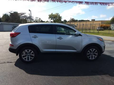 2014 Kia Sportage for sale at Kenny's Auto Sales Inc. in Lowell NC