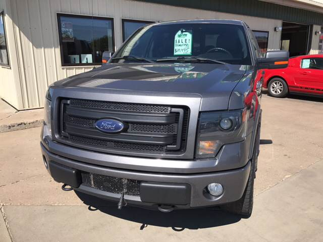2013 Ford F-150 4x4 FX4 4dr SuperCrew Styleside 5.5 ft. SB - Minot ND