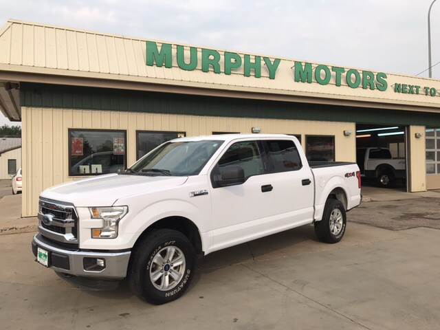 2016 Ford F-150 4x4 XLT 4dr SuperCrew 5.5 ft. SB - Minot ND