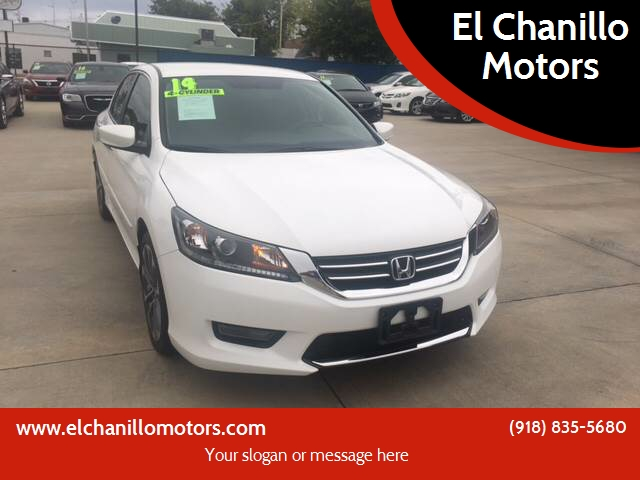 2014 Honda Accord Sport 4dr Sedan CVT   Tulsa OK