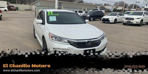 2017 Honda Accord for sale in Tulsa, OK