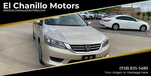 2015 Honda Accord for sale in Tulsa, OK