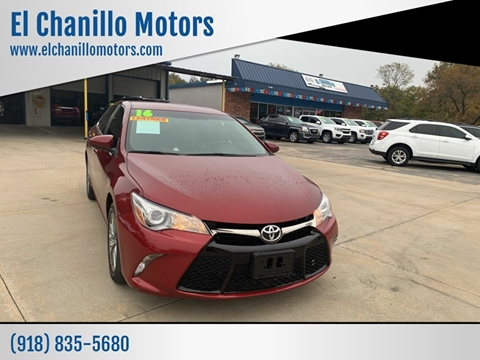 Toyota Dealership Tulsa >> 2016 Toyota Camry For Sale In Tulsa Ok