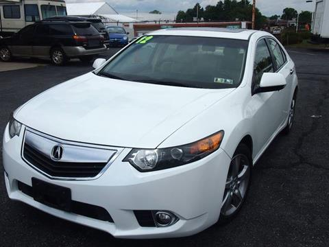 2012 Acura TSX for sale in Whitehall, PA
