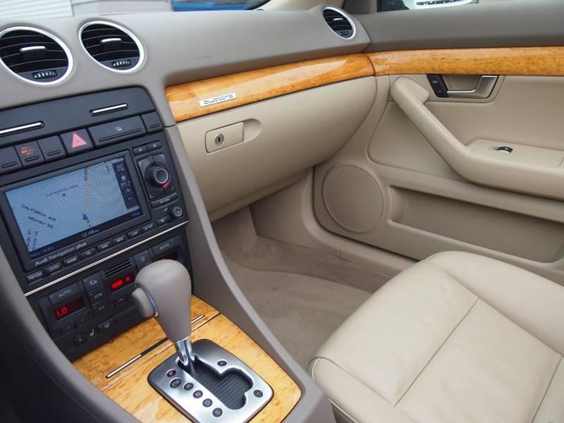 2007 Audi A4 AWD 2.0T quattro 2dr Convertible (2L I4 6A) - Whitehall PA