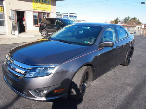 2011 Ford Fusion for sale in Whitehall, PA