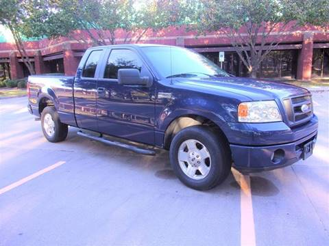 2007 Ford F-150 for sale at Testarossa Motors Inc. in League City TX