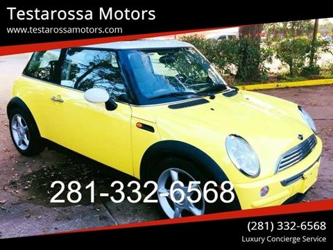 2003 MINI Cooper for sale at Testarossa Motors Inc. in League City TX