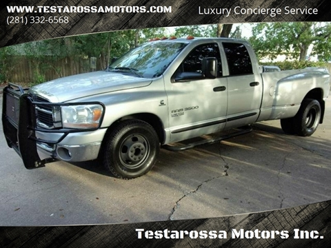2006 Dodge Ram Pickup 3500 for sale in League City, TX