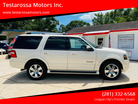 2007 Ford Expedition for sale at Testarossa Motors Inc. in League City TX