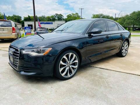 2013 Audi A6 for sale at Testarossa Motors Inc. in League City TX