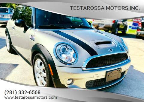 2009 MINI Cooper for sale at Testarossa Motors Inc. in League City TX