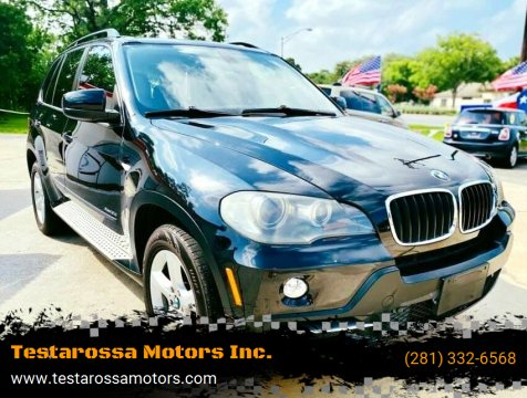 2009 BMW X5 for sale at Testarossa Motors Inc. in League City TX