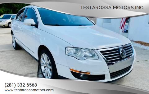 2010 Volkswagen Passat for sale at Testarossa Motors Inc. in League City TX