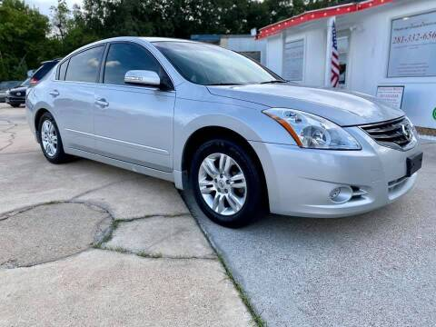 2011 Nissan Altima for sale at Testarossa Motors Inc. in League City TX