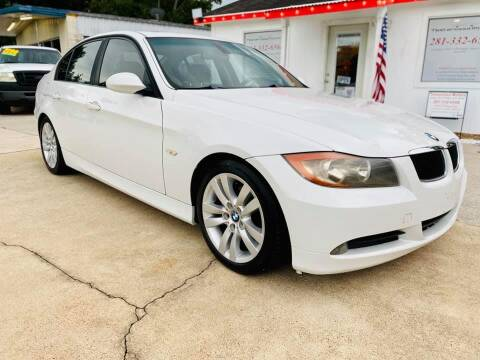 2006 BMW 3 Series for sale at Testarossa Motors Inc. in League City TX