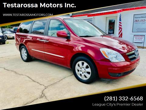 2007 Hyundai Entourage for sale at Testarossa Motors Inc. in League City TX
