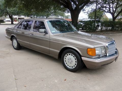 1991 Mercedes-Benz 350-Class for sale at Testarossa Motors Inc. in League City TX