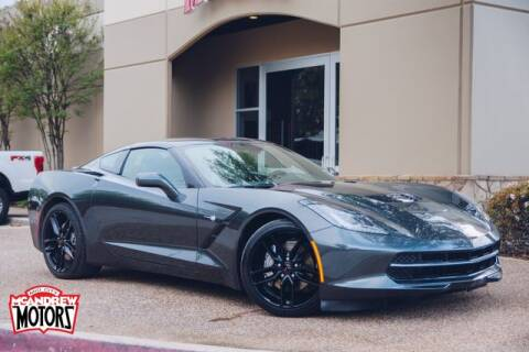 2019 Chevrolet Corvette Stingray for sale at Mcandrew Motors in Arlington TX