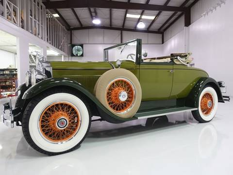 1929 Packard Eight 626 Convertible Coupe