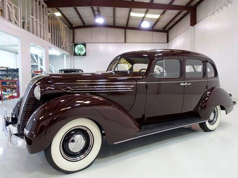 1937 Hudson Custom Six Touring Sedan for sale in Saint Louis, MO