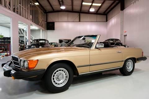1980 Mercedes-Benz 450 SL for sale at Daniel Schmitt and Company in Saint Louis MO