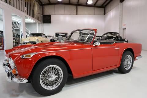 1965 Triumph TR4 for sale at Daniel Schmitt and Company in Saint Louis MO