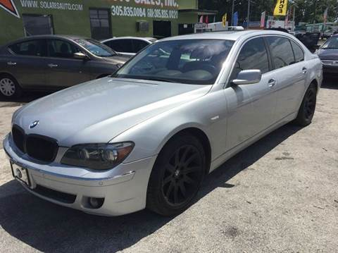 2006 Bmw 750i >> 2006 Bmw 7 Series For Sale In Cord Ar Carsforsale Com