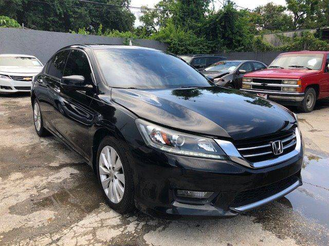 2014 Honda Accord EX L V6 4dr Sedan   Miami FL