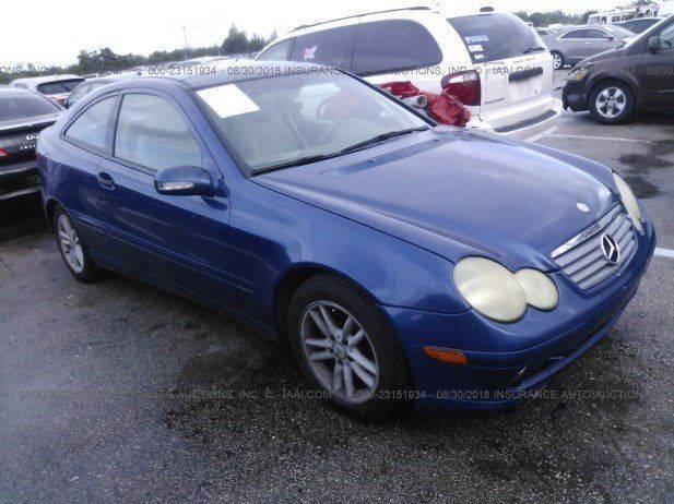 2002 Mercedes Benz C Class C 230 Kompressor 2dr Hatchback   Miami FL