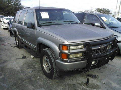 2000 Chevrolet Tahoe Limited/Z71 for sale in Miami, FL