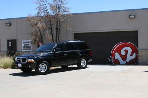 2003 Dodge Durango for sale at V12 Auto Group in Lubbock TX