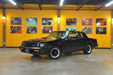1987 Buick Grand National for sale at V12 Auto Group in Lubbock TX