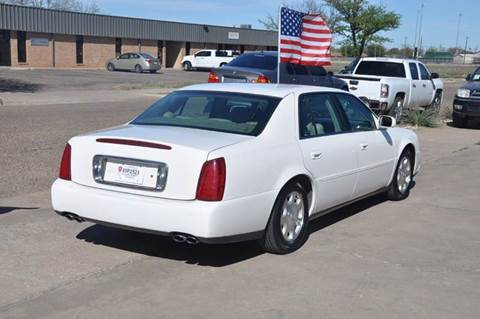 2002 Cadillac Deville Base 4dr Sedan In Lubbock TX - V12