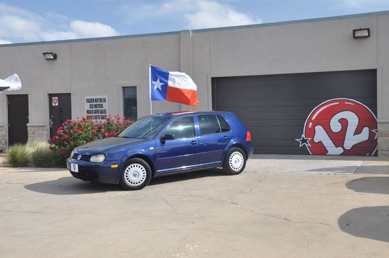 2002 Volkswagen Golf for sale at V12 Auto Group in Lubbock TX