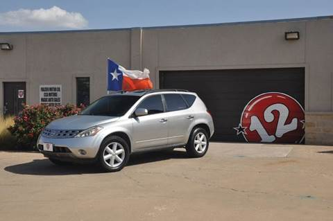 2003 Nissan Murano for sale at V12 Auto Group in Lubbock TX