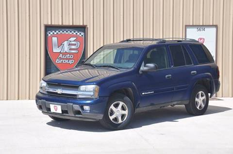 2003 Chevrolet TrailBlazer for sale at V12 Auto Group in Lubbock TX