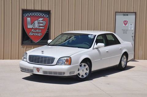2002 Cadillac DeVille for sale at V12 Auto Group in Lubbock TX