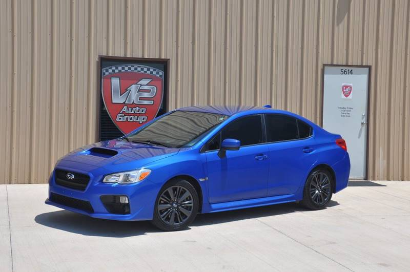 2015 Subaru WRX for sale at V12 Auto Group in Lubbock TX