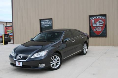 2011 Lexus ES 350 for sale at V12 Auto Group in Lubbock TX