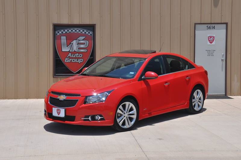 2014 Chevrolet Cruze for sale at V12 Auto Group in Lubbock TX