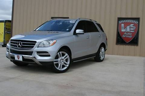 2013 Mercedes-Benz M-Class for sale at V12 Auto Group in Lubbock TX