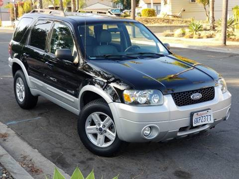 2007 Ford Escape Hybrid for sale at Gold Coast Motors in Lemon Grove CA