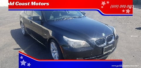 2008 BMW 5 Series for sale at Gold Coast Motors in Lemon Grove CA