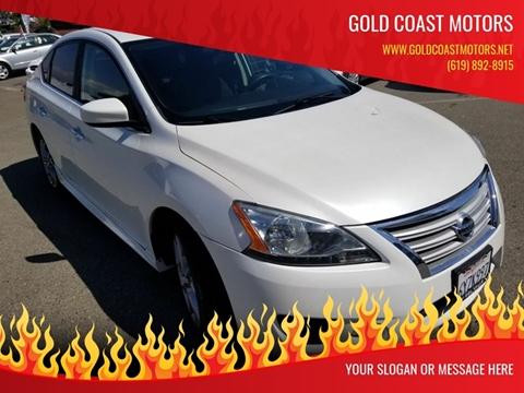 2013 Nissan Sentra for sale at Gold Coast Motors in Lemon Grove CA