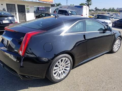 2012 Cadillac CTS for sale at Gold Coast Motors in Lemon Grove CA