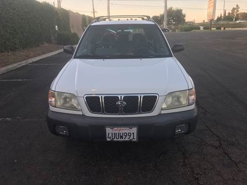 2002 Subaru Forester for sale at Gold Coast Motors in Lemon Grove CA