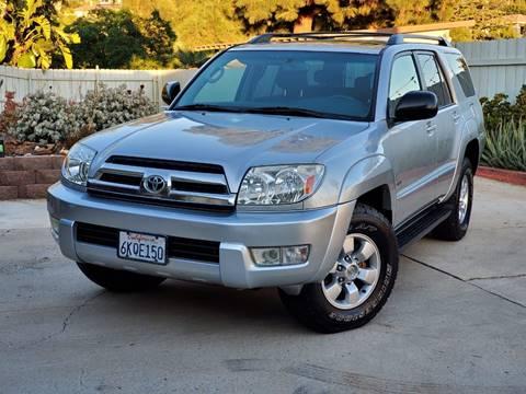 2003 Toyota 4Runner for sale at Gold Coast Motors in Lemon Grove CA